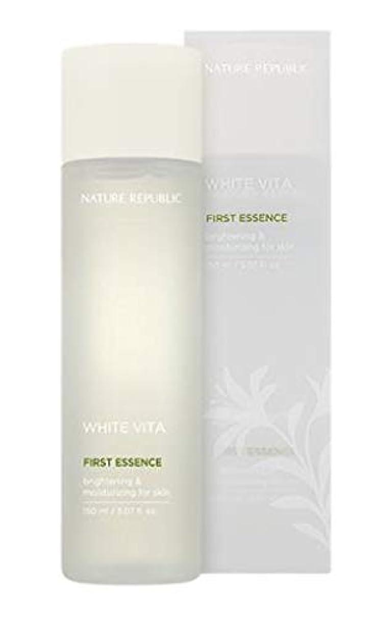 家禽その他せせらぎNATURE REPUBLIC White Vita First Essence ネイチャーリパブリック ホワイトビタファーストエッセンス [並行輸入品]