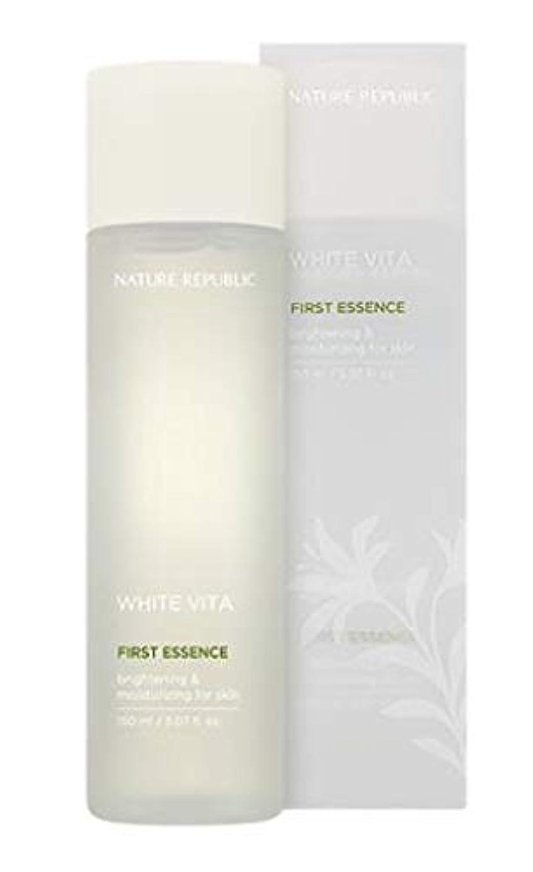 受ける池進化するNATURE REPUBLIC White Vita First Essence ネイチャーリパブリック ホワイトビタファーストエッセンス [並行輸入品]