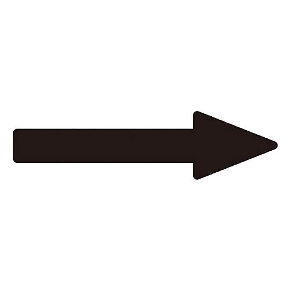 起きて致死切手配管識別方向表示ステッカー ?→(黒)? 貼矢78/61-3409-04