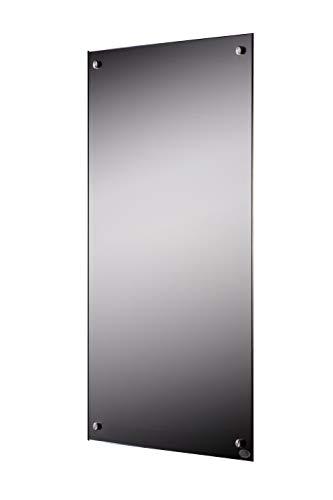 Infrarot Spiegelheizung (300/450/600/800/1000 Watt) mit TÜV und 5 Jahren Garantie (600 Watt) - inkl. Thermostat
