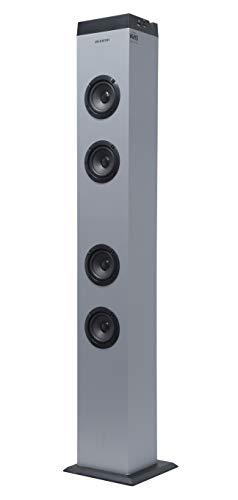 Altavoz Torre DE Sonido ST-K20 INFINITON (Bluetooth, USB/SD, Mando A Distancia) (Silver)