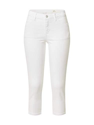 Esprit 030EE1B328 Jeans Damen, Weiß (100/WHITE), 32/22