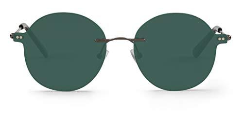 Mr. Boho | Embassy | Circular Classic - Gafas de sol para hombre y mujer
