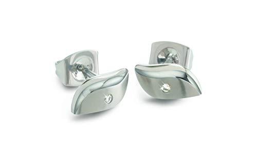 Boccia 05044-03 - Orecchini in titanio con brillanti