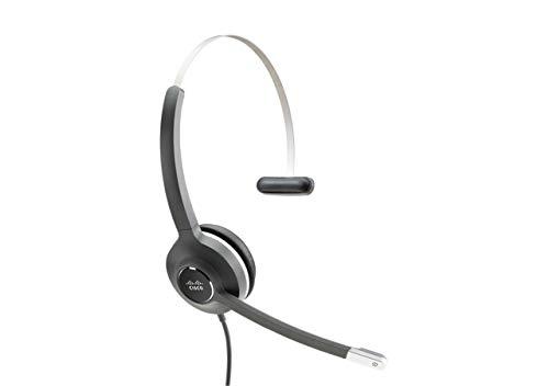 Cisco Headset 531 Monophon Kopfband Schwarz, Grau - Headsets (DECT-Telefon, Monophon, Kopfband, Schwarz, Grau, Verkabelt, Schwarz)