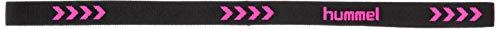 [ヒュンメル] ヘアバンド ワイドヘアゴム メンズ ブラック×S.ピンク (9024) 日本 フリーサイズ (FREE サイズ)