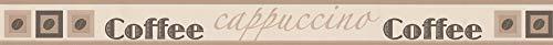 A.S. Création 282811 selbstklebende Bordüre, braun,beige