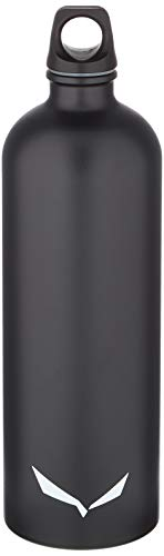 SALEWA Unisex– Erwachsene ISARCO LT BTL 1,0 L bottle, Schwarz, normal