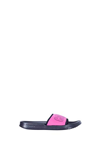 CALVIN KLEIN Women - Intense power fuchsia logo slides - Number admin
