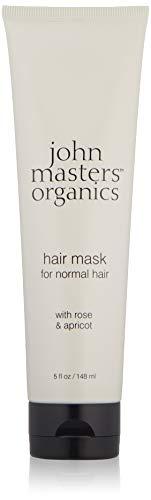 John Masters Organics Mascarilla hidratante de rosa y albaricoque