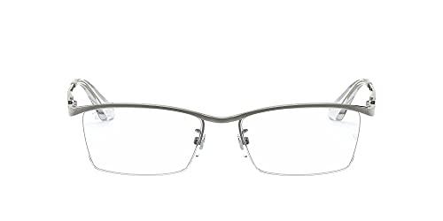 [レイバン] メガネ 0RX8746D 1000 GUNMETAL 日本 55 (FREE サイズ)