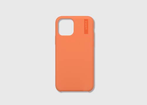 wemoウェアラブルメモケースタイプ(iPhone11Pro,コーラルレッド)