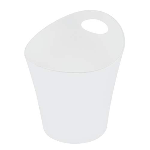 koziol pot à découpe 3 l Pottichelli L, thermoplastique, blanc, 21 x 19 x 23 cm