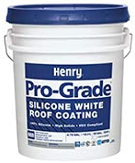 Silicone Roof Coating 36-5 gal Pail Henry 988 PRO-Grade Various Colors