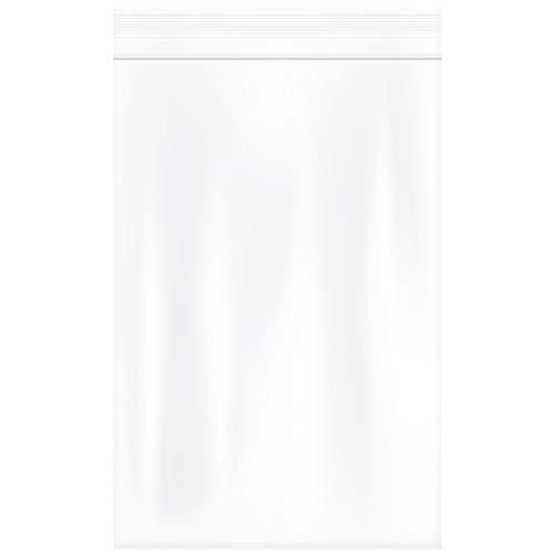 "Piokio 4"" x 6"", 4Mil (100pcs) Small Heavy Duty Plastic Ziplock Bag Reclosable Zipper Bags"