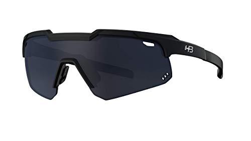 Óculos De Sol Shield Hb Adultounissex , Hb, Adultounissex, Preto Matte, UNICO