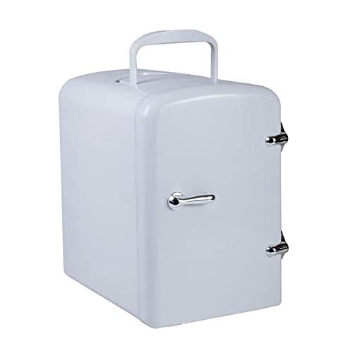 携帯用コンパクトパーソナル冷蔵庫半導体電子冷蔵庫食品化粧品冷蔵庫の家のための冷蔵庫と暖かい White