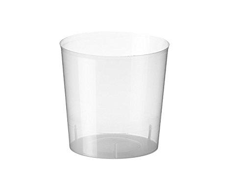 Sumicel Vaso plástico Media Pinta, Caja 400 Unidades (Polipropileno)