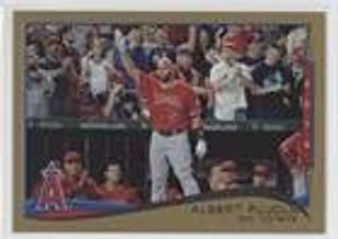 Albert Pujols; Checklist #1895/2,014 (Baseball Card) 2014 Topps Update Series - [Base] - Gold #US-1