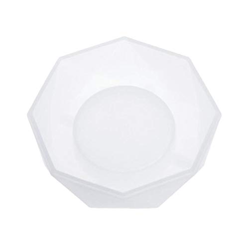 Silicone Mold Craft Ashtray Epoxy Resin Plaster Cement DIY Jewelry Making Cake Dried Flower Resin Decorative DIY Hand Crafts,White
