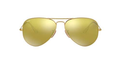 Ray-Ban MOD. 3025 Ray-Ban Sonnenbrille Mod. 3025 Aviator Sonnenbrille 58, Gold