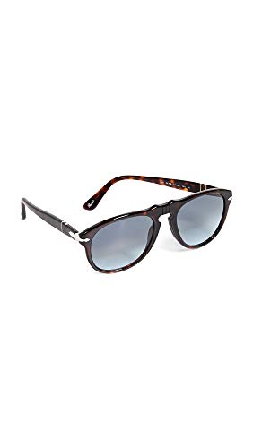 Persol MOD. 0649 Sun Occhiali da Sole, Unisex Adulto, Multicolore (Light Blue Shaded), 54
