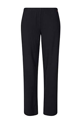 Skiny Damen Sleep & Dream Hose lang Schlafanzughose, Black, 38