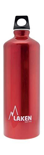 Laken Futura Borraccia di Alluminio, Bottiglia d'Acqua con Apertura Stretta e Tappo a Vite con Anello