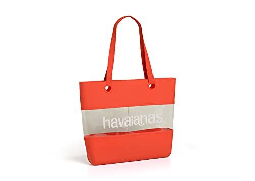 Havaianas Bolso de playa para mujer, rojo (rubí), Talla única