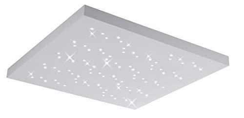 Trio Leuchten LED Deckenleuchte Titus 676617531, Metall / Aluminium, 36 Watt, Helligkeit und Lichtfarbe einstellbar