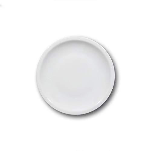 Assiettes à dessert porcelaine blanche x 6 - D 20 cm - Roma
