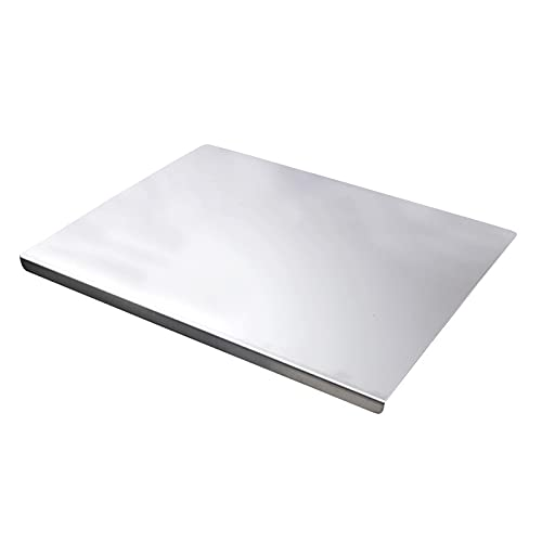 Cutting Boards, zrrcyy, Extra Large Stainless Steel Chopping Board, Baking Board, Heavy Cutting Board For Kitchen,Pastry Board For Meat,Vegetables, Bread, Cutting Mats ( Size : 50X40cm )