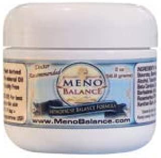 MenoBalance BioIdentical Progesterone Cream - Hormonal Balance for Women - 2 oz Jar Menopause Relief Cream