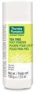 THURSDAY PLANTATION Tea Tree Foot Powder, 100 GR
