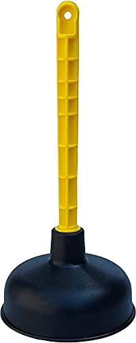 Mario 10 Saugglocke - Pümpel mit starker Saugleistung - pflegeleichter Pömpel - Abflussstampfer mit kraftvollem Gummi-Kolben