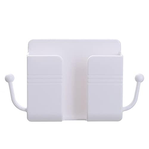 NGLSCXR Soporte de Control Remoto de 5 PC, Soporte de teléfono de Control Remoto de Montaje en Pared, Bastidor de Carga para teléfono móvil, Caja de Almacenamiento de Pared Multi, para una decoración