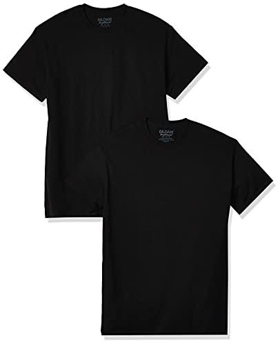 Gildan Men's DryBlend T-Shirt, Style G8000, 2-Pack, Black, 2X-Large