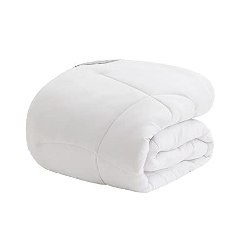 Bedsure 掛け布団 シングル オールシーズン ふとん かけ布団 1.8kg 洗える かけふとん 冬 軽量 通気 抗菌防臭 アレルギー対策 150x210cm 掛布団