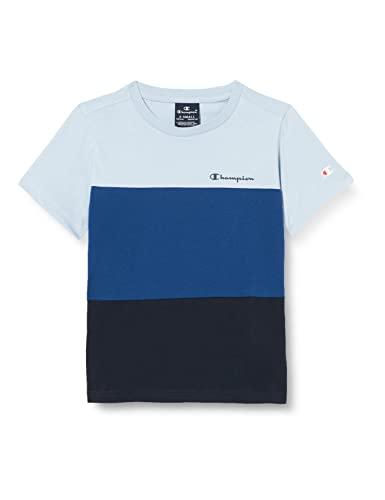 Champion American Classics Color Mix Sweatshirt à Capuche, Bleu Marine, 15-16 Ans Garçon