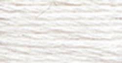 DMC Thread Pearl Cotton Balls Size 8 95 Yards Snow White 116 8-B5200 (10-Pack)