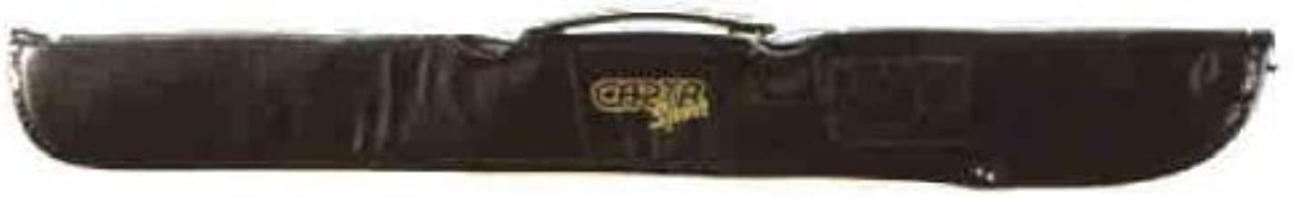 Brand New Black Vinyl 2 Piece Pool Or Snooker Cue Protective Carry Case