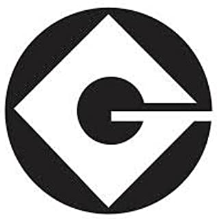 Gru Logo - 1 - White Vinyl Decal 5