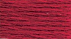 DMC Thread 6-Strand Embroidery Cotton 8.7 Yards Medium Christmas Red 117-304 (12-Pack)