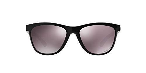 Oakley Damen Moonlighter 932008 53 Sonnenbrille, Schwarz (Polished Black/Prizmdailypolarized)