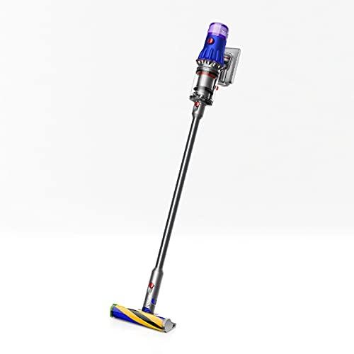 ダイソン サイクロン式スティッククリーナー 充電式 パワーブラシタイプ ブルー/アイアン/ニッケル【掃除機】Dyson V12 Detect Slim Fluffy SV20FF