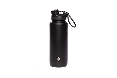Tal Water Bottle Double Wall Insulated Stainless Steel Ranger Pro - 40oz - Black