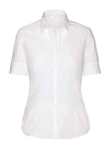 Seidensticker Damen Bluse , Weiß (01), 42