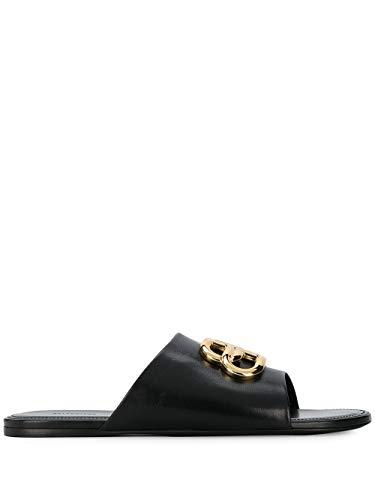 Luxury Fashion | Balenciaga Dames 604061WA8F91088 Zwart Leer Sandalen | Lente-zomer 20