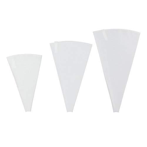 Lily cook KP5425 Poche à Douille en Tissu, Coton, Blanc, 30 x 0,2 x 17 cm