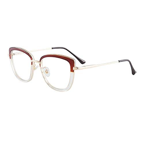 LUOXUEFEI Gafas De Sol Gafas De Mujer Con Montura De Gafas Para Mujer